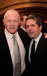 Anthony Hopkins and Brad Grey at the Los Angeles premiere of