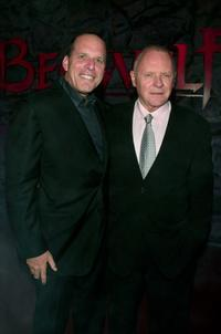 Anthony Hopkins, Jack Rapke at the Los Angeles premiere of