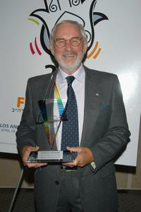 Norman Jewison at the pre-screening cocktail party for the Israel Film Festival Premiere Screening of