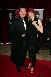 Tom Burlinson and Mandy Burlinson at the opening night for the new stage production of the musical