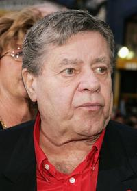 Jerry Lewis at the California premiere of