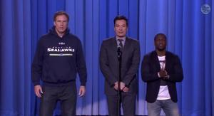 Watch an Epic Lip-sync Battle Between Will Ferrell, Kevin Hart and Jimmy Fallon