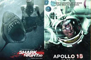 You Rate the New Releases: 'Shark Night 3D,' 'Apollo 18' and 'The Debt'