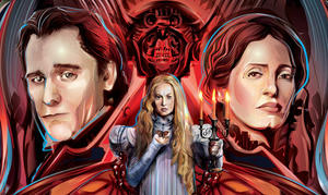 EXCLUSIVE: 'Crimson Peak' Original Artwork