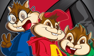 EXCLUSIVE ARTWORK: Alvin and the Chipmunks