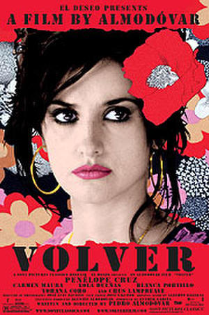 """Poster art for """"Volver."""""""