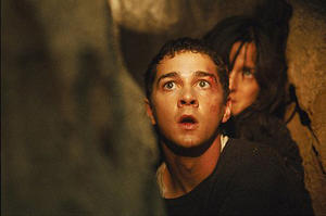 "Kale Brecht (Shia Labeouf), is put under house arrest and begins to withdraw into fantasy and voyeurism in ""Disturbia."""