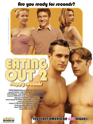 """Poster art for """"Eating Out 2: Sloppy Seconds."""""""