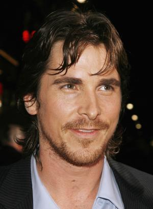 "Christian Bale at the Hollywood premiere of ""The Prestige"""