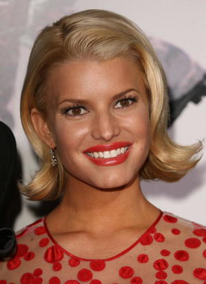 """Jessica Simpson at the Los Angeles premiere of """"Employee of the Month"""""""