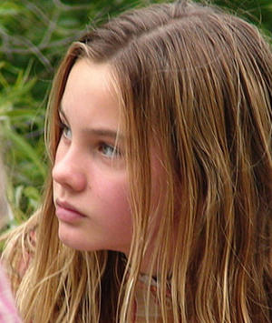"""Cadi Forbes (Liana Liberato) struggles to learn the secrets of the true sin eater in """"The Last Sin Eater."""""""