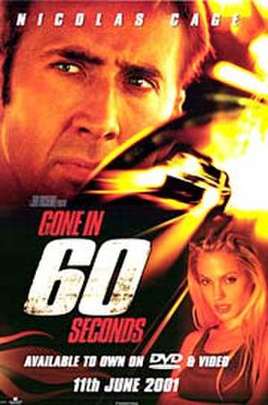 "Poster art for ""Gone in 60 Seconds."""