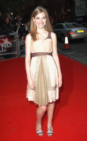 """Actress Imogen Poots at the London premiere of """"28 Weeks Later."""""""