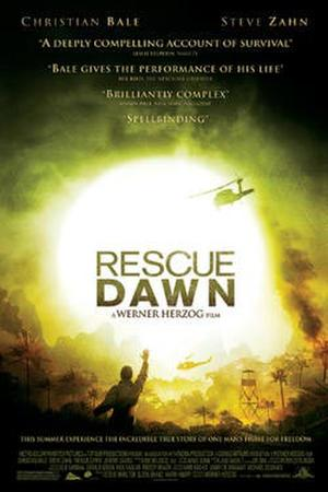 "Poster art for ""Rescue Dawn."""