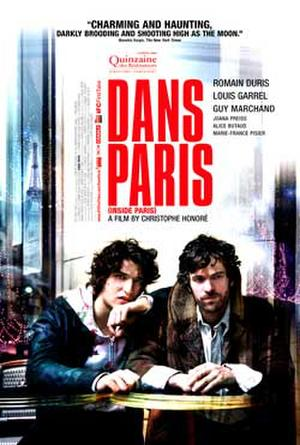 "Poster art for ""Dans Paris."""
