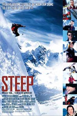 "Poster art for ""Steep."""