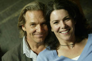 "Jeff Bridges and Lauren Graham in ""The Amateurs."""