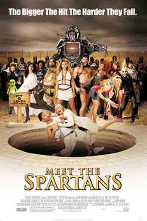 "Poster art for ""Meet the Spartans."""