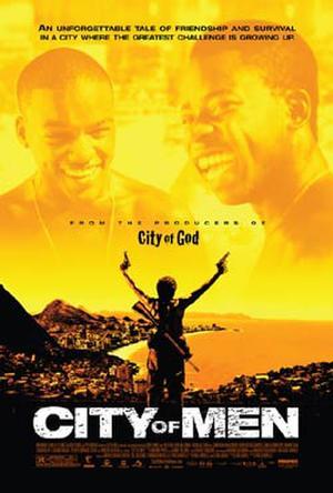 """Poster art for """"City of Men."""""""