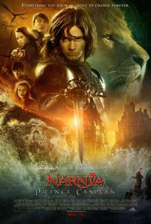 "Poster art for ""The Chronicles of Narnia: Prince Caspian."""