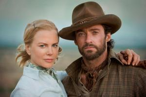 "Nicole Kidman and Hugh Jackman in ""Australia."""