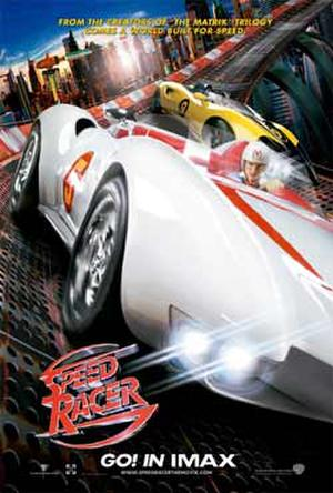 "Poster art for ""Speed Racer: The IMAX Experience."""