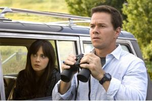 "Mark Wahlberg and Zooey Deschanel in ""The Happening."""