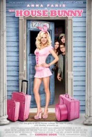 "Poster art for ""The House Bunny."""