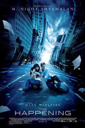 "Poster art for ""The Happening."""