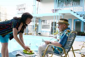 "Elisabeth Pena as Esperanza and Otto Tausig as Simon in ""Love Comes Lately."""