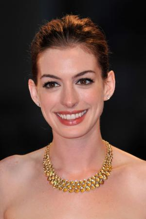 """Anne Hathaway at the premiere of """"Rachel Getting Married"""" during the 65th Venice Film Festival."""