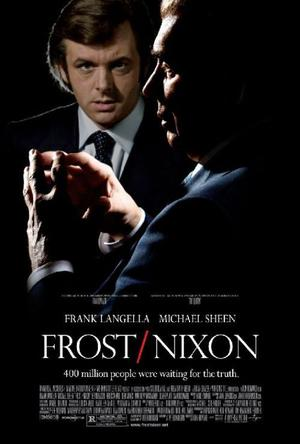 """Poster Art for """"Frost/Nixon."""""""
