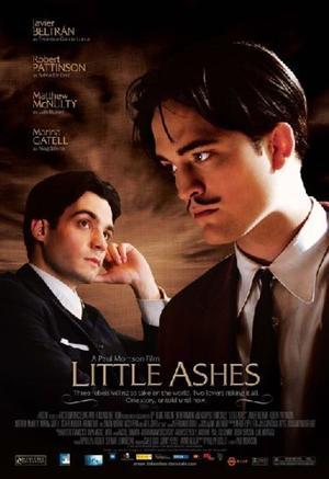 "Poster Art for ""Little Ashes."""
