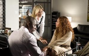 "Idris Elba, Ali Larter and Beyoncé Knowles in ""Obsessed."""