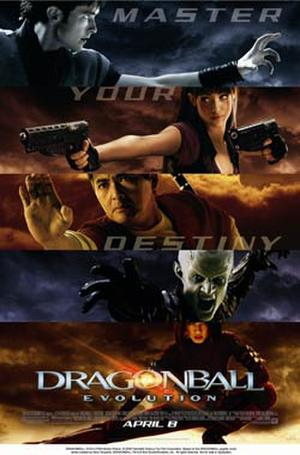 "Poster art for ""Dragonball Evolution."""