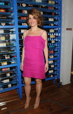 """Nia Vardalos at the after party of the New York premiere of """"My Life In Ruins."""""""