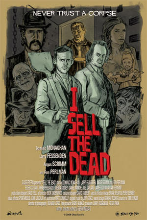 """Poster art for """"I Sell the Dead."""""""