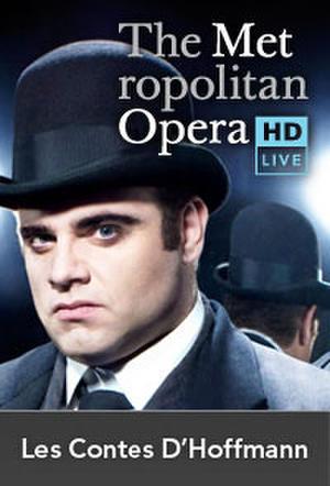 "Poster art for ""The Metropolitan Opera: Les Contes d'Hoffmann."""