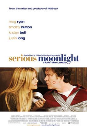 "Poster art for ""Serious Moonlight."""