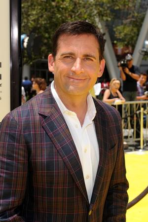 "Steve Carell at the California premiere of ""Despicable Me."""