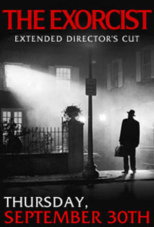 "Poster art ""The Exorcist Director's Cut Event."""