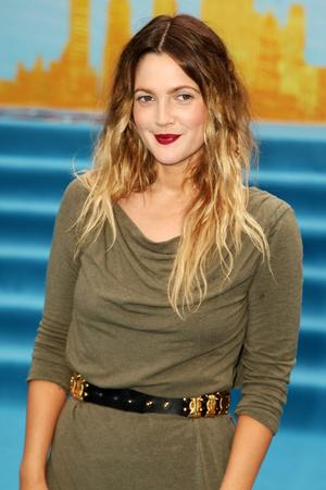 "Drew Barrymore at the UK premiere of ""Going The Distance."""