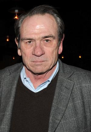 """Tommy Lee Jones at the New York premiere of """"The Company Men."""""""