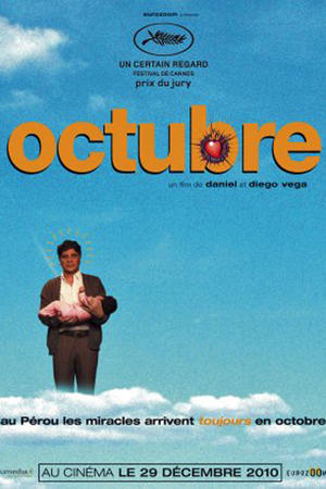 "Poster art for ""Octubre"""