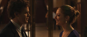 """Michael C. Hall as Jack and Judy Greer as Laura in """"Peep World."""""""