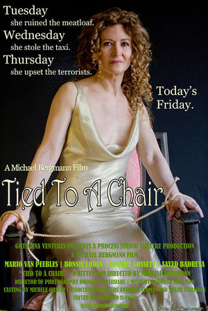 "Poster art for ""Tied To a Chair."""