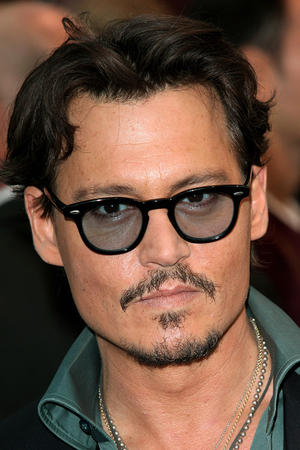 "Johnny Depp at the UK premiere of ""Pirates of the Caribbean: On Stranger Tides."""