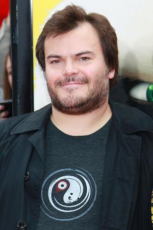 "Jack Black at the California premiere of ""Kung Fu Panda 2."""