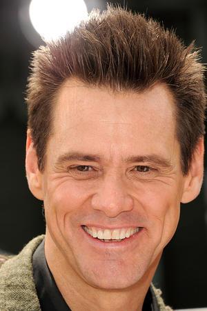 "Jim Carrey at the California premiere of ""Mr. Popper's Penguins."""