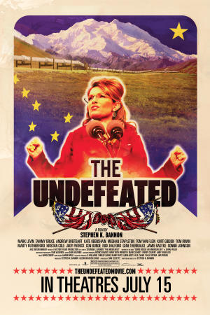 """Poster art for """"The Undefeated."""""""